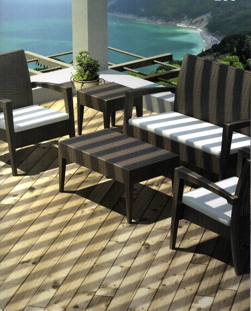 le mobilier de terrasse restauration. Black Bedroom Furniture Sets. Home Design Ideas